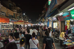 Hanoi Night Market (Richard Perry) Tags: travel people night market vietnam busy nightmarket hanoi vn bustling