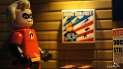 Mr. Incredible (Canaan May) Tags: lego mr disney pixar series incredible incredibles minifigure