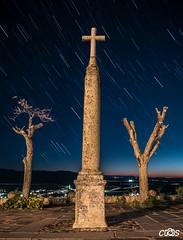Cruz circumpolar (server.carlos) Tags: las night photography cruz nocturna fotografia con aguilera pea ventas circumpolar