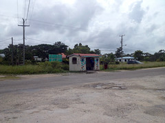 Belize City - Bus Stop (The Popular Consciousness) Tags: belize belizecity centralamerica