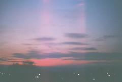(juliasmolnik) Tags: light sky film clouds analog canon lights evening grain fujifilm analogue lovely canonae1 fujisuperia200 filmphotography fujifilmsuperia filmfreak hatedigital