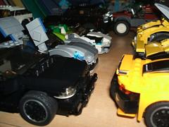 DSCF1258 (Daniel V 75) Tags: wallpaper art car sport speed star photo lego 4x4 ferrari voiture creation porsche wars paysage tuning base luxe berline moc