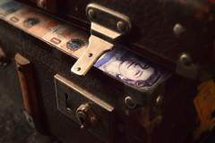 unlocked (StevenParsons42) Tags: money vintage flickr elizabeth lock queen cash friday suitcase flikr