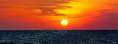 Mind Blowing Perfect Sunset Tampa Bay Florida - IMRAN (ImranAnwar) Tags: travel winter sunset red sea sky panorama sun inspiration beach gulfofmexico nature water yellow night photoshop tampa outdoors landscapes nikon marine flickr seasons tampabay florida dusk peaceful tranquility boating imran yachting lifestyles 2016 apollobeach imrananwar sooc