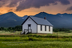 Willows School Established 1889 (Bridget Calip - Alluring Images) Tags: county sunset summer snow grass clouds colorado outdoor meadows dramatic settlers rockymountains wildflowers allrightsreserved custer sangredecristomountains copyrighted oneroomschoolhouse 2015 ominousclouds wetmountainvalley schoolhouses nationalhistoricregister willowsschool educationalinstitution oneroomschoolhouses woodenschool bridgetcalip coloradohistoricregister alluringimagesllc custercountydramaticclouds