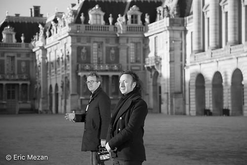 """Secrets d'Histoire : tournage au château de Versailles """"Les Femmes dans la Révolution"""""""