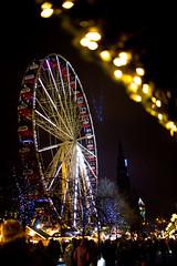 Ferris Wheel 3 (HarveyNewman) Tags: night canon scotland colorful edinburgh time fireworks mark iii scottish newyear celebration hogmanay scotish 2015