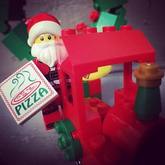 Merry Christmas! As it turns out Santa does deliver. #Lego #chrisofpie (chrisofpie) Tags: lego chrisofpie