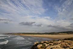 Praia Da Bordeira, Carrapateira, Algarve (John LaMotte) Tags: portugal praia playa nwn nubes clouds cielo infinitexposure ilustrarportugal