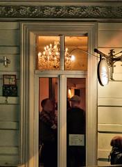 Kronleuchter (natterjack3) Tags: christmas reflections lights wuppertal lichter elberfeld reflektionen weinhnachten