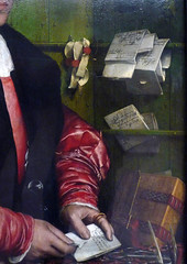 Holbein, The Merchant Georg Gisze