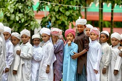 We have some dreams and some nightmares (Ferdousi.) Tags: life boys uniform muslim islam streetphotography lifestyle orphan orphanage traveling moment groupportrait travelphotography hifsmadrasa