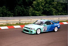 1999 entrant - img003 (nissansports) Tags: skyline race racecar germany deutschland nissan 1999 r33 rennen falken gtr 24h nürburgring rennwagen