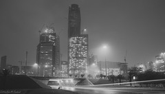 King Abdullah Financial District (abdullah_13) Tags: sky blackandwhite bw white black night nikon flickr saudi arabia riyadh ksa   d5200