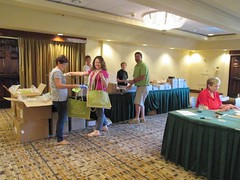 Volunteers Stuffing Bags Tuesday 2