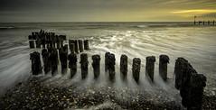 Dawlish Warren Groyne (grahamhutton) Tags: sea beach devon groyne groynes seadefence dawlish dawlishwarren