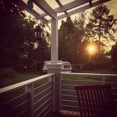 Beautiful sunset after rain. #evening #sunset... (Matti Airaksinen) Tags: sunset home rain finland evening moody scene koti aurinko iltaaurinko uploaded:by=flickstagram instagram:photo=1042152991318664496302847616