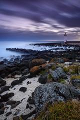 Griffith Dawn (Rodney Campbell) Tags: longexposure lighthouse clouds sunrise au australia victoria cpl portfairy gnd09 littlestopper