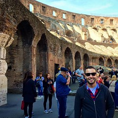 Roma #colosseum #europe #cold #europa #view... (polimerase) Tags: travel cold rome roma art history arquitetura europa europe view arte colosseum amateur portuguese historia outono constructions lovethisplace iphonecamera velhomundo instapic beautifuldestinations uploaded:by=flickstagram instagram:venuename=colosseum instagram:venue=213004466 braziltravelers instagram:photo=111600187850724549430836522