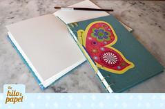 Copta mariposa 2 (Vita-design) Tags: handmade crafts sketchbook bookbinding cuaderno libretas copta encuadernacin dehiloypapel