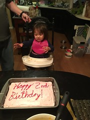 Why do I have to wait? (hyprsleepy) Tags: birthday party baby girl cake asian kid toddler sad crying frustrated