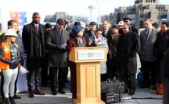 Fordham Plaza Unveiling (NYCDOT) Tags: plaza bronx fordham fta nycdot federaltransitadministration nycddc fordhambid commissionerpollytrottenberg nycddccommissionerdrfenioskypeamora onenycplazaequityprogram bronxcommunityboard6 bronxcb6