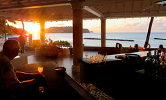 I'll have another one of those (oobwoodman) Tags: sunset bar sonnenuntergang sundown drink cocktail caribbean stlucia happyhour rendezvous boisson getrnk carabes karibik saintlucia couchedesoleil