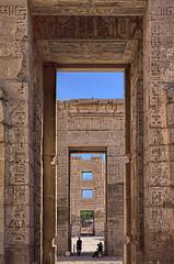 Mortuary Temple of Ramses III, Medinet Habu, Egypt (bfryxell) Tags: egypt luxor thebes medinethabu firstpylon mortuarytempleoframsesiii secondpylon necropolisofthebes migdoltower