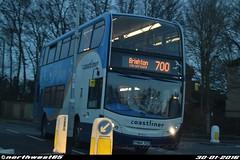 15986 (northwest85) Tags: bus worthing brighton east 400 lane preston alexander dennis 700 stagecoach scania enviro adl angmering 15986 coastliner xso yn64 yn64xso