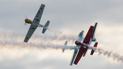 Crazy Ivans (warth man) Tags: airshow duxford nikon70300mmvr d7000 battleofbritainanniversaryshow