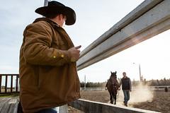 Getting Ready (.o0 chris 0o.) Tags: canada cowboy quebec rodeo 2010 troisrivières stmaurice cheveau