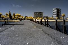 IMG_1610s (francois f swanepoel) Tags: wood sea lighthouse water lunch concrete bridges perspectives capetown infrared restoration brug naval atlanticocean guano milnerton beton 1960 westerncape woodbridgeisland atlantieseoseaan ligtoring