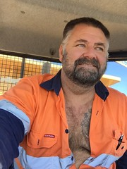 Holy Fuckballs! (CubOz) Tags: hairy man beard hunk butch