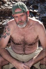 IMG_1105 (DesertHeatImages) Tags: bear gay shirtless hairy phoenix furry desert masculine cap lgbt dreamy draw