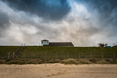 Room with a View (Number Johnny 5) Tags: house rooftop beach clouds stairs outside sand nikon norfolk steps cliffs d750 tamron gorleston clifftop 2470mm