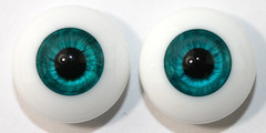Dollbakery 16mm Perfect Teal (thepeachpeddler) Tags: eye eyes doll shimmery pair bakery tiny pairs bjd msd urethane dollbakery