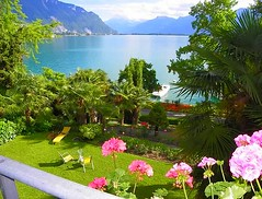 Montreaux, Switzerland (carolynthepilot) Tags: trip travel sky lake holiday mountains alps mike beautiful architecture french landscape hotel switzerland michael amazing interesting backyard europe paradise european tour photoshoot geneva swiss balcony postcard memories lifestyle bluesky roadtrip landmark resort adventure explore veranda international exotic alpine photograph postcards historical waters summertime passport resorts luxury tranquil mts traveler waterscape mustsee frommer montreaux patioview swissvillage romanticgetaway silkstockings goldenwings europass worldtraveler worldtraveller alpmountains honeymoondestination switzerlandbeauty romanticdestination carolynbistline carolynthepilot carolynsuebistline flickrhivemindnet flickrmindset hotelgolfrenecapt explore2016