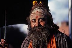 Holy man (Bingley Hall) Tags: nepal asia kathmandu kodachrome sadhu holyman sannyasin