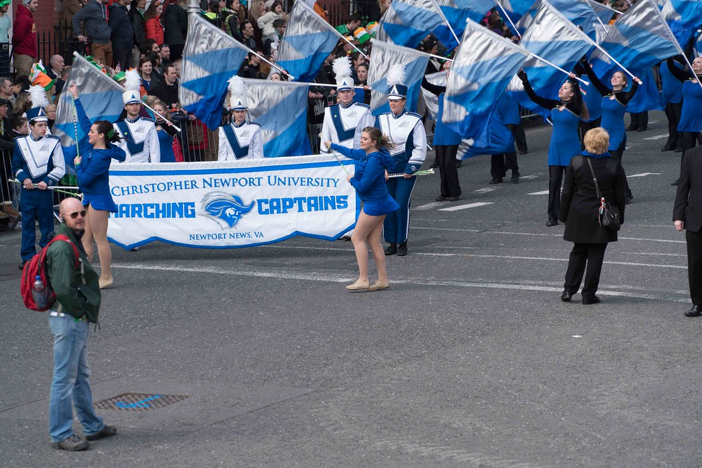 Christopher Newport University Marching Captains-112412