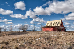 kamp. two guns, az. 2007. (eyetwist) Tags: road roof camp two arizona food usa postprocessed abandoned station sign clouds photoshop typography graffiti route66 nikon ruins exposure desert mother roadtrip 66 tagged route filter type americana guns interstate rv nikkor campground roadsideamerica derelict processed deserted cloudporn kamp i40 2007 koa typographic postprocessing motherroad twoguns us66 alienskin 18200mmf3556gvr d80 eyetwist bypassed fadingamerica nikcolorefex nikond80 eyetwistkevinballuff americantypologies