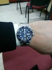 Orient FEM65009d9 (brknrdgn) Tags: blue dark watch automatic diver orient saat otomatik