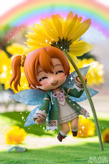 Spring Fairy Honoka (novavistaphotography) Tags: flowers anime flower toy toys 50mm spring rainbow nikon manga naturallight fairy figure figures japanesetoy bishoujo nikond3200 toyphotography nendo bfigure jfigure goodsmilecompany pvcfigure nendoroid lovelive figurephotography nendoroidphotography loveliveschoolidolproject kousakahonoka honokakousaka loveliveschoolidolfestival
