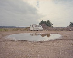 Sixfields 3 (Andy Feltham...) Tags: 120 film analog mediumformat northampton kodak northamptonshire caravan sixfields portra400 mamiya7 65mmf4