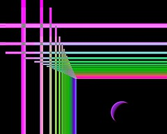 Astral Construction Zone (jacklouis17) Tags: colors construction colorful vision fractal spiritual astral beams afterlife otherworldly fractalart