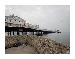 Brighton Pier II (Christa (ch-cnb)) Tags: sea england beach sussex pier seaside unitedkingdom olympus pebble stylus tough tg4 thecityofbrightonandhove