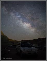 Star-Studded 4-Runner 3048 (maguire33@verizon.net) Tags: california camping stars us unitedstates galaxy deathvalley milkyway deathvalleynationalpark