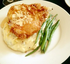 Southern Fried Pork Chop Dinner (carolynthepilot) Tags: travel vacation food usa holiday chicken mike dinner ga georgia lunch cuisine michael us foods cafe potatoes amazing paradise tour eating getaway 5 exploring meals tasty meat adventure explore southern foodporn bbc experience meal tropical romantic dining traveling dine chops porkchop eats weddingday heavenly finedining foody palate 2016 foodcritic bonappetite tastebuds silkstockings goldenwings worldtraveller romanticdinner friedporkchop southerncharm romanticdining southernfoods bucketlist riverfrontrestaurant romanticdestination carolynbistline carolynthepilot bistline savannahdining