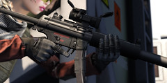 SAC MP5 A5 N(FDT Version) with SD Option Live Fire Preview (Eripom^^) Tags: hk field fight military sub navy sac battle special sd gloves secondlife weapon operations combat swat machinegun mp5 aimpoint fdt ssoc tonktastic