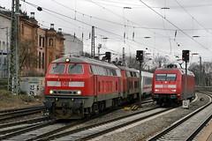 P2220024 (Lumixfan68) Tags: ic eisenbahn db 101 bahn intercity deutsche regio 218 zge loks baureihe dieselloks