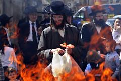 PASSOVER (BoazImages) Tags: portrait holiday man festival fire israel jerusalem culture documentary burning jewish judaism orthodox hasidic passover chametz boazimages